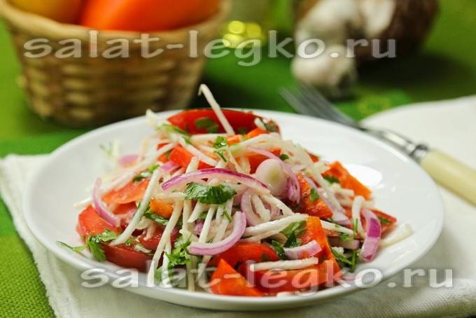 салат из репы яйца лука рецепт калорийность