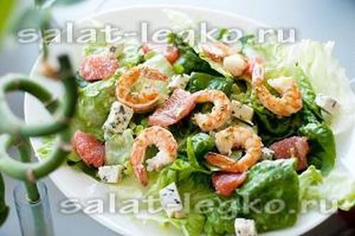 салат изкреветок рецепт с фото очень вкусный