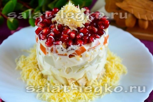 Салат на Новый год 2020 - пошаговый рецепт с фото на Повар.ру | 334x500